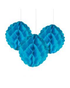 Turquoise Tissue Balls