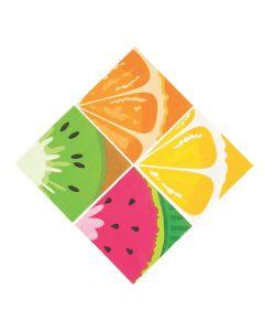Tutti Frutti Beverage Napkins