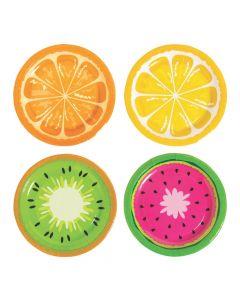 Tutti Frutti Paper Dessert Plates