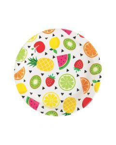 Tutti Frutti Paper Dinner Plates