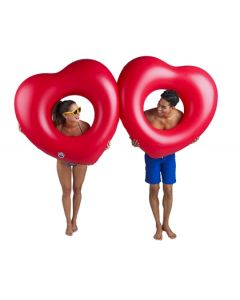 Two Hearts Inflatable Pool Float