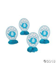 Umbrellaphants Blue Honeycomb Deco