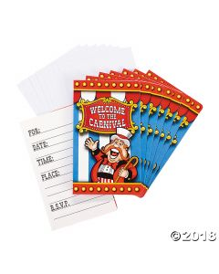 Under the Big Top Invitations