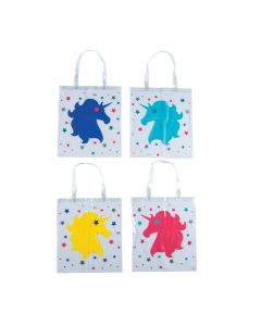 Unicorn Clear Tote Bags