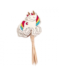 Unicorn cake Picks