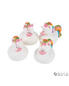 Unicorn Rubber Duckies