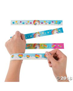 Unicorn Slap Bracelets