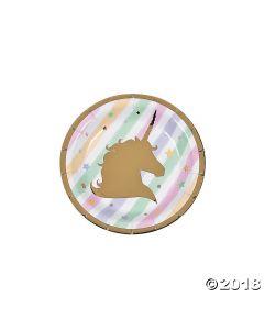 Unicorn Sparkle Dessert Plate