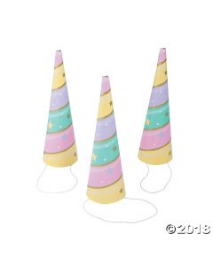Unicorn Sparkle Horn Party Hats