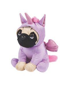 Unicorn Stuffed Pug
