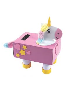 Unicorn Valentine Card Holder Box Craft Kit