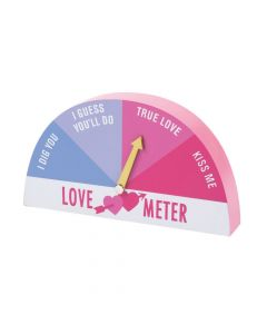 Valentine Love Meter Tabletop Sign