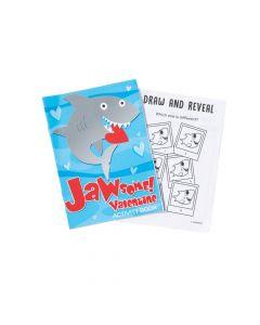 Valentine Shark Activity Books