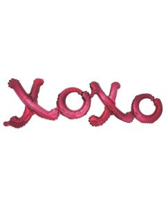 Valentine XOXO Mylar Balloon Photo Prop
