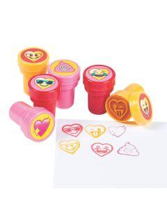 Valentine's Day Emoji Stampers