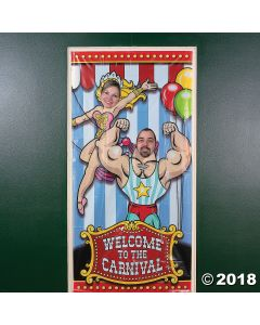 Vinyl Big Top Photo Door Banner