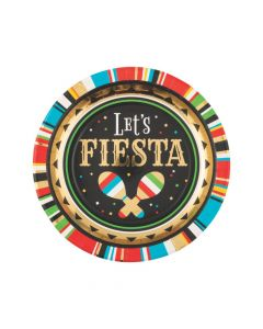 Viva Fiesta Paper Dinner Plates