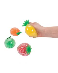 Water Bead Squeeze Fruits