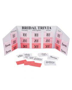 Wedding and Bridal Trivia Game Board Set