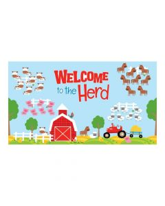 Welcome to the Farm Bulletin Board Set
