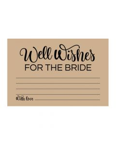 Well Wishes for the Bride Cards