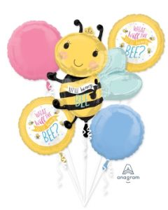 What Will It Bee Balloon Bouquet