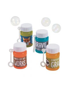 Wild Encounters VBS Mini Bubble Bottles