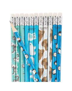 Winter Animals Pencils