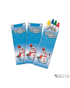 Winter Crayons