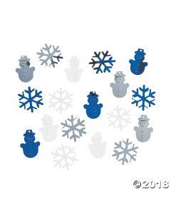 Winter Metallic Confetti