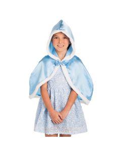 Winter Princess Hooded Capelet Shawl