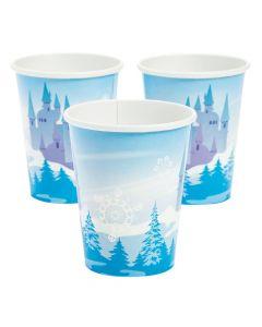 Winter Princess Paper Cups