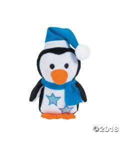 Winter Stuffed Penguins