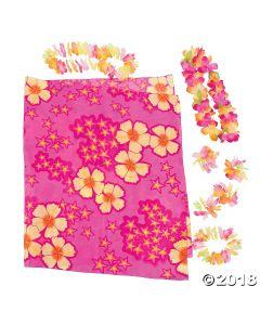 Womens Luau Apparel Kit