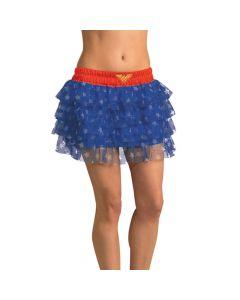 Women's Wonder Woman Skirt with Sequins