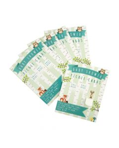 Woodland Baby Shower Pickle Cards
