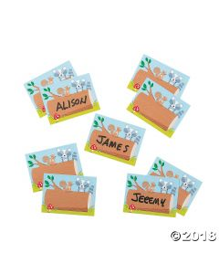 Woodland Friends Classroom Name Tags/labels