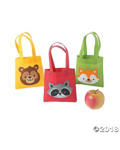 Woodland Party Mini Tote Bags