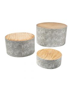Woodland Party Tree Stump Treat Stands