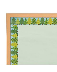 Woodland Tree Bulletin Board Borders