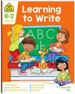 Workbooks Learning to Write