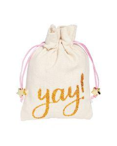 Yay Drawstring Bags