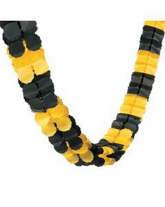 Yellow and Black Garland