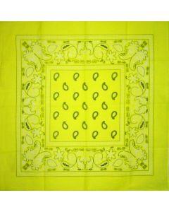 Yellow Neon Bandana