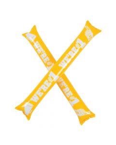 Yellow Team Spirit Boom Sticks