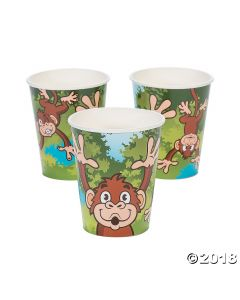 Zoo Adventure Paper Cups