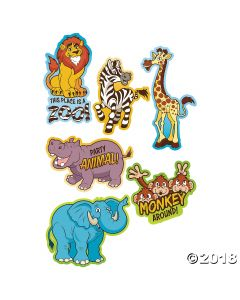 Zoo Adventure Wall Cutouts