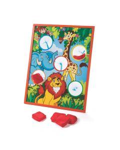 Zoo Animal Bean Bag Toss Game