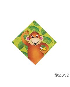 Zoo Animal Beverage Napkins
