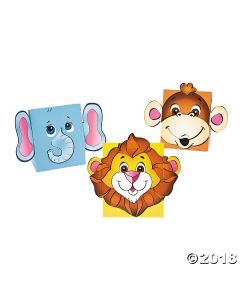 Zoo Animal Favour Boxes